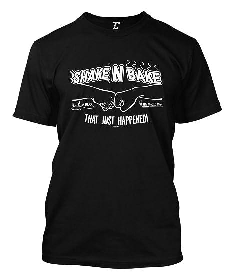 e5f978ea Amazon.com: Shake N Bake - That Just Happened! Men's T-Shirt: Clothing