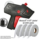 Monarch 1110 Price Gun with Labels Starter Kit: Includes Price Gun, 8,500 White Pricing Labels and Inker