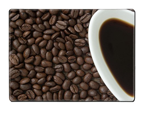 Luxlady Placemats IMAGE ID: 33795045 coffee beans on wooden table