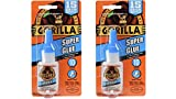 Tools & Hardware : Gorilla Super Glue, 15 g, Clear, (2 Pack)