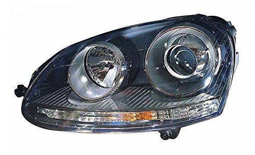 (HID Headlight Headlamp Left Driver Side LH for VW Volkswagen Golf Rabbit)
