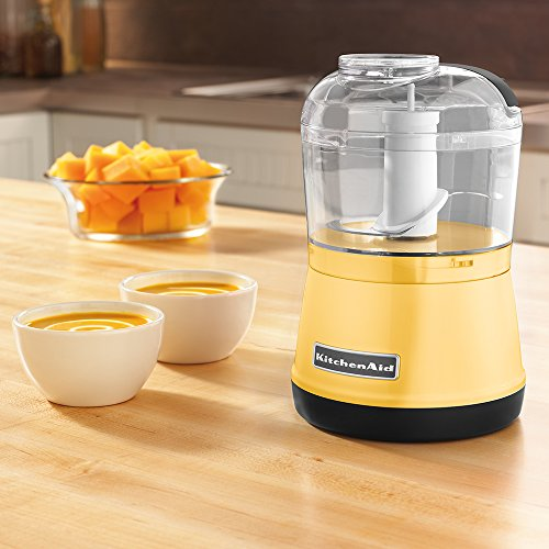 KitchenAid KFC3511MY 3.5-Cup Food Chopper - Majestic Yellow