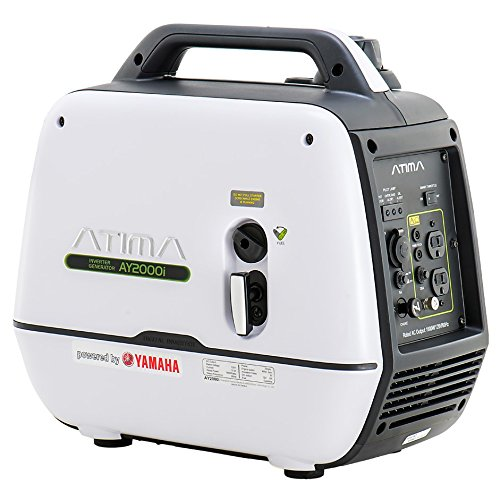 Atima Small & Quiet Portable Inverter Generator, Gas Powered Yamaha Engine For RV Camping Or Home