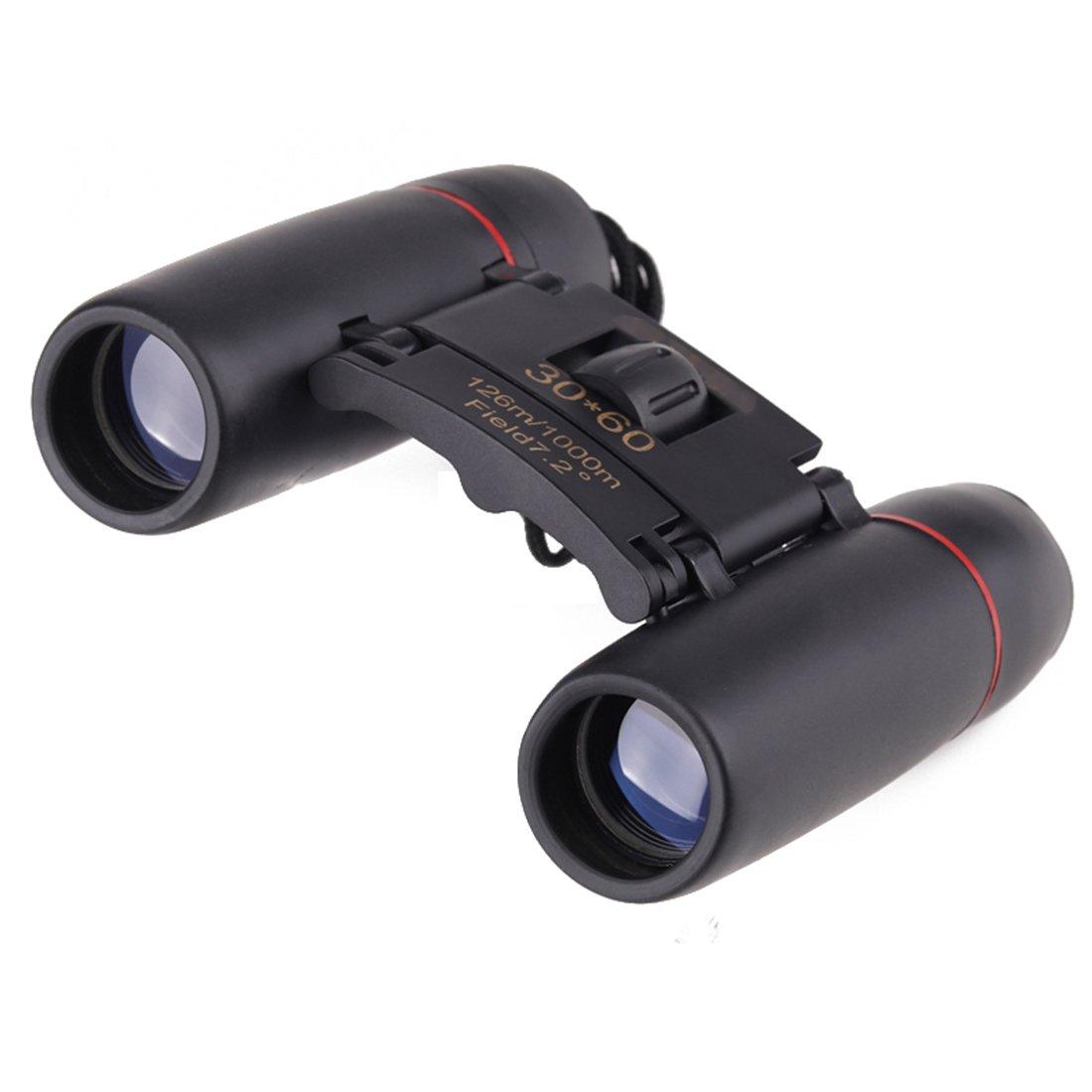 Chudaズーム望遠鏡30 x 60折りたたみ双眼鏡ローライトナイトビジョン屋外用Bird Watching旅行狩猟キャンプ2018 B07CCMDVK4  ブルー