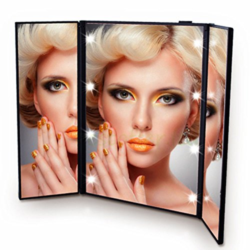 Mirror Makeup Led Lighted Vanity Light Cosmetic Beauty Standing - Nz Ban