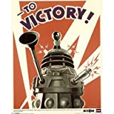Doctor Who Dalek Large Poster 24x36 TO VICTORY WAR poster