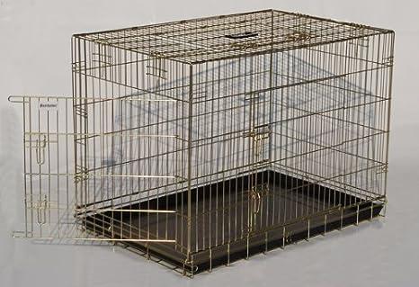 Jaula, Transporte, Kennel, perros Box, perros Caja de metal - XL ...