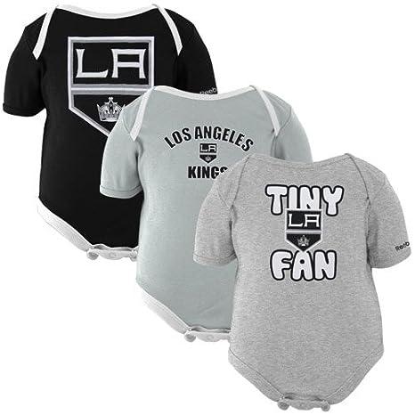best loved ef31f 95eaa Amazon.com : Los Angeles LA Kings 3pc Creeper Set Bodysuit ...