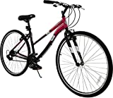 Cheap Columbia Cross Train 700c Women's 21-Speed Fitness Hybrid Commuter Bike