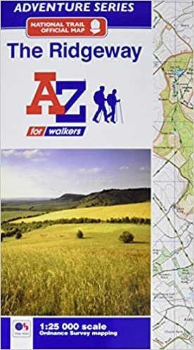 Ridgeway Colorado Map.The Ridgeway Adventure Atlas Amazon Co Uk Geographers A Z Map Co