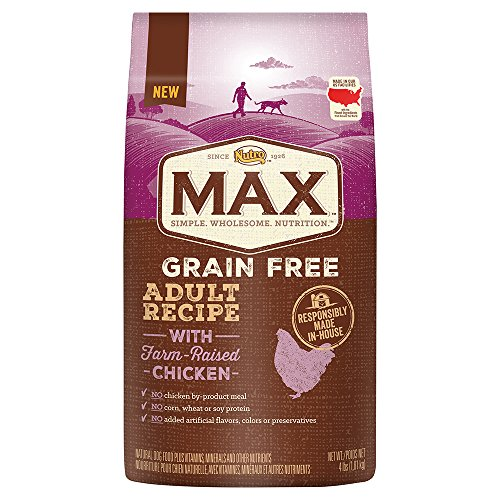 Nutro MAX Grain Free Adult Recipe With Salmon Dry Dog Food, 25 lbs; (1) 25-lb. bag, Rich in Nutrients and Full of Flavor