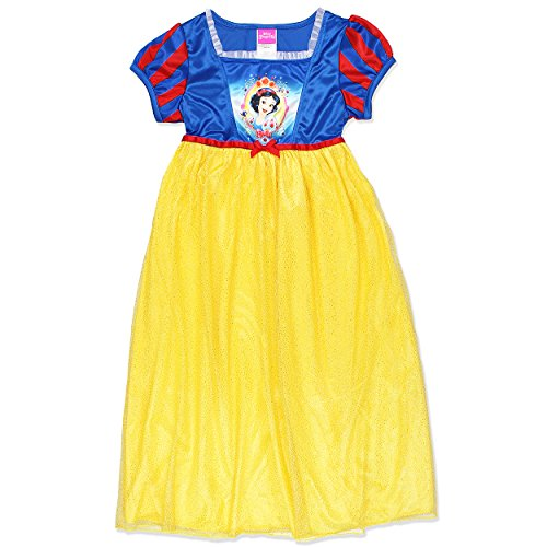 Disney Little Girls' Snow White Fantasy Nightgown, Yellow, 4 Snow White Clothing
