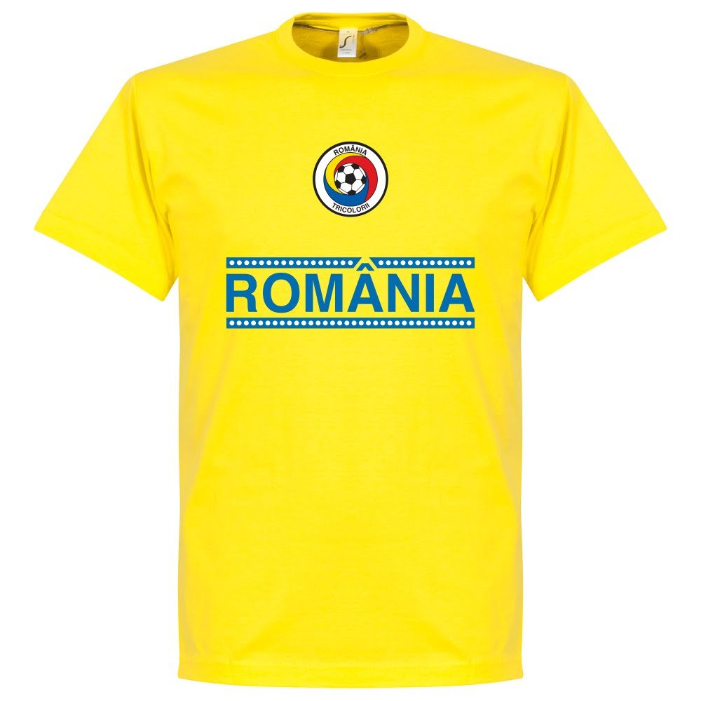 Romania Team Tee - Yellow Retake