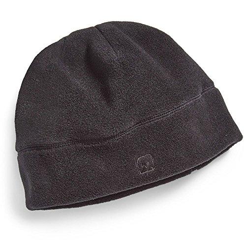 Patagonia Lightweight Ski Hat (EMS Classic 200 Fleece Beanie Black One Size)