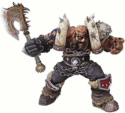 DC Unlimited World of Warcraft: Premium Series 3: Orc Warrior: Garrosh Hellscream Action Figure