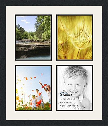 ArtToFrames Double Multimat 550 61 89 FRBW26079 Collage 4 8x10