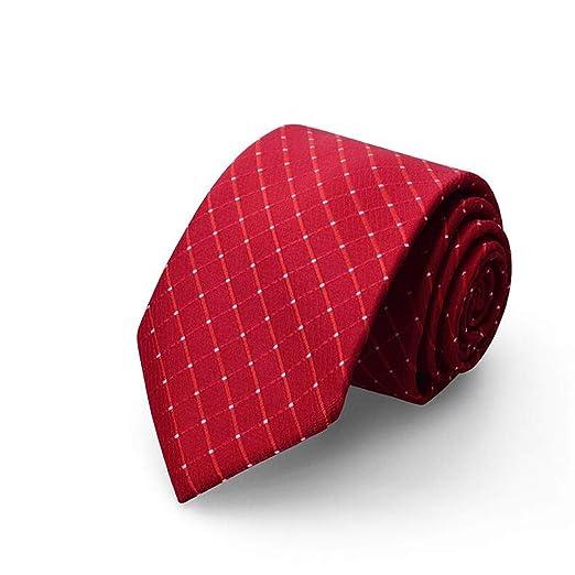 Corbata/Traje de Hombre de Negocios / 8 cm/Moda Rojo/Novio Boda ...