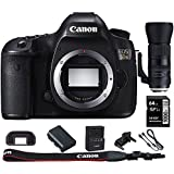 Canon EOS 5DS 50.6MP Digital SLR Camera (Body Only) w/Bundle Includes, Tamron SP 150-600mm F/5-6.3 Di VC USD G2 Zoom Lens for Canon Mounts + Lexar 64GB 1000x SDHC/SDXC Class 10 Memory Card