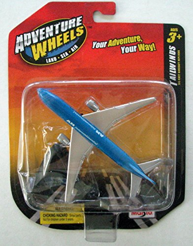 Maisto Adventure Wheels Boeing 777-200 AM Intercontinental Die-Cast Replica Plane