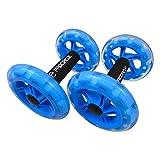Gen-X Ab Wheel Roller - Double Exercise Wheel