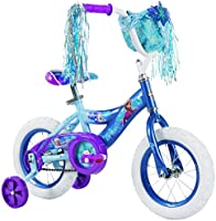 """12"""" Disney Frozen Bike by Huffy, Ages 3-5, Height of 37-42"""""""