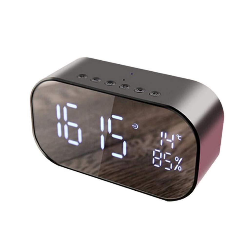 und Weisequalit/äts-Champagner IGHER Neuer drahtloser intelligenter Uhr-Bluetooth-Sprecher Mini-kleines bewegliches Art
