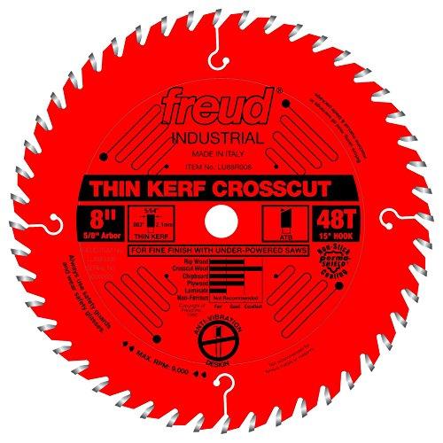 """Freud 8"""" x 48T Thin Kerf Fine Finish Crosscut Blade (LU88R008)"""