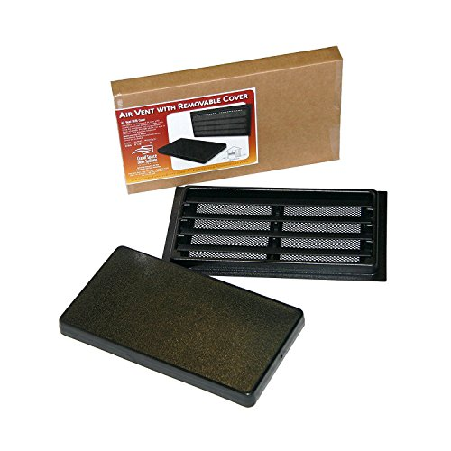 Manual Crawl Space Vent with Removable Cover and Vermin Screen (16