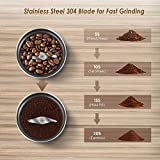 CHULUX Electric Stainless Steel Coffee Spice