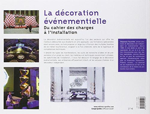 La d coration v nementielle du cahier des charges l for Decoration evenementielle
