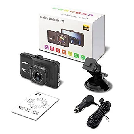Full HD 1080P Dash Cam Car Blackbox Car DVR Dashboard Camera Vehicle Camera Front G-Sensor Motion Detection Loop Video Recorder Night Vision Diimo Dash Cam
