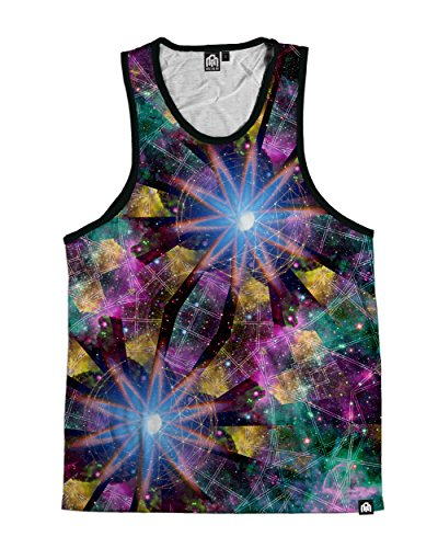 INTO THE AM Cosmic Vision Premium All Over Print Tank Top (Large)