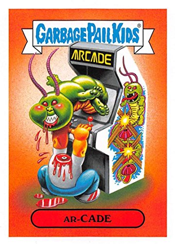2018 Topps Garbage Pail Kids Series 1 We Hate the 80s Trading Cards 80s VIDEO GAMES #1B AR- CADE
