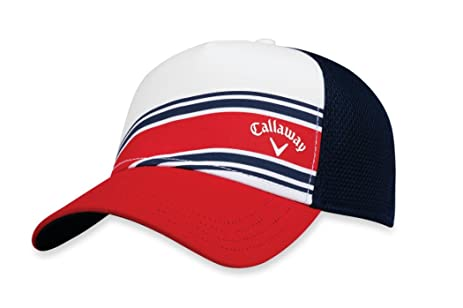 Amazon Com Callaway Golf Callaway Headwear Hat Stripe Mesh Mens