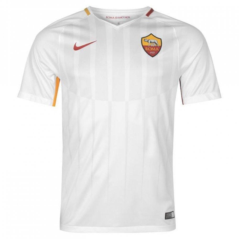 Kids' Dry A.S. Stadium Jersey Weiß OFF Weiß TEAM CRIMSON 17 18 Roma Nike