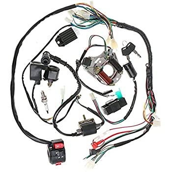 main wire harness assembly atv 110cc 125cc. Black Bedroom Furniture Sets. Home Design Ideas