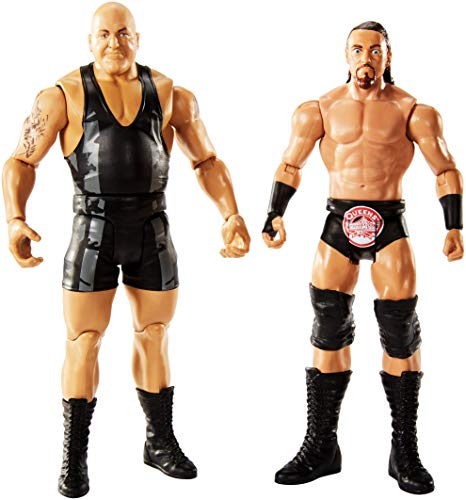WWE Figure Series # 55 Big Show & Big Cass Action Figures, 2 Pack