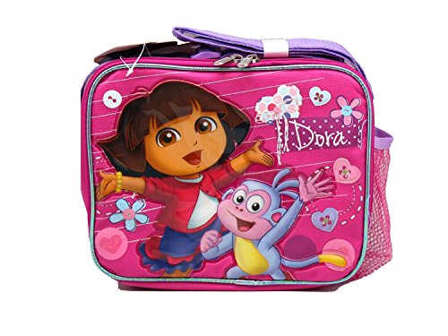 Pink Dora the Explorer and Boots Lunch Bag by Nickelodeon ()