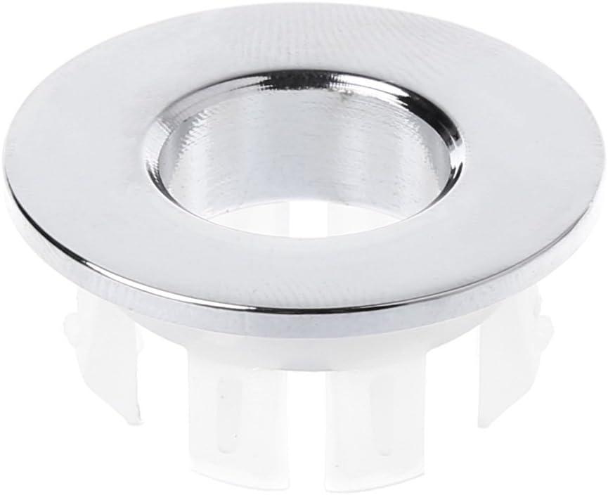 Splitter JOYKK Bad Becken Wasserhahn Waschbecken /Überlauf Abdeckung Messing Sechs-Fu/ß-Ring-Einsatz Ersatz