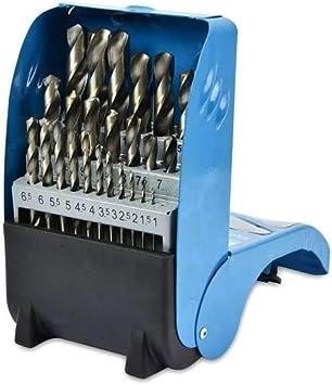 Juego de 25 Brocas para Metal HSS-Co hasta 13 mm: Amazon.es: Electrónica