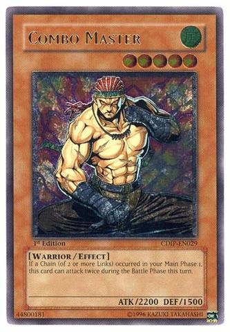 Yu-Gi-Oh! - Combo Master (CDIP-EN029) - Cyberdark Impact - 1st Edition - Ultimate Rare