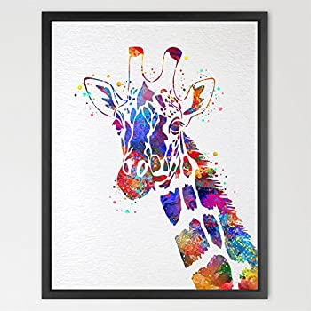Dignovel studios 8x10 giraffe watercolor for Chambre 8x10