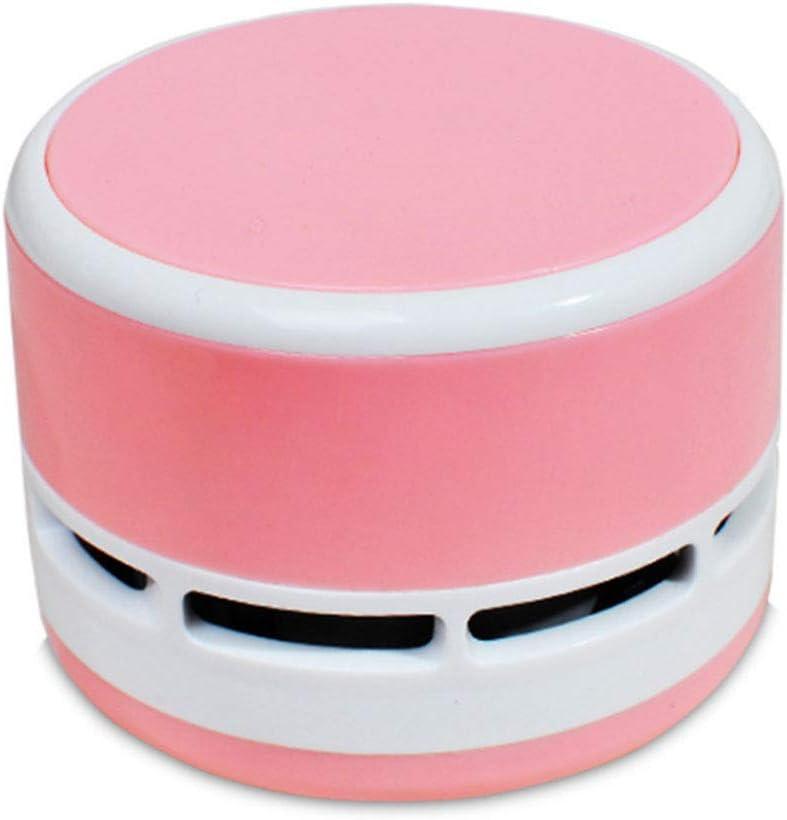 Mini aspiradora eléctrica sin cable escritorio Sweeper portátil de mano limpiador para casa oficina coche – rosa: Amazon.es: Hogar