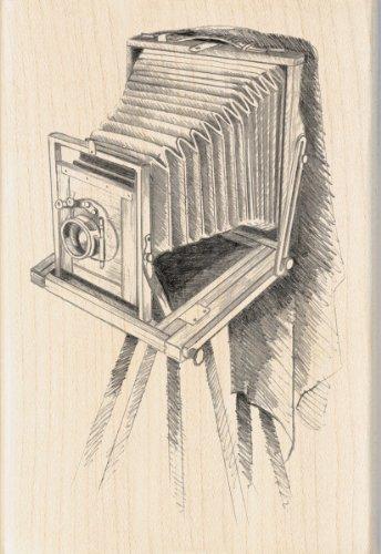Inkadinkado Vintage Camera Wood Stamp by Inkadinkado