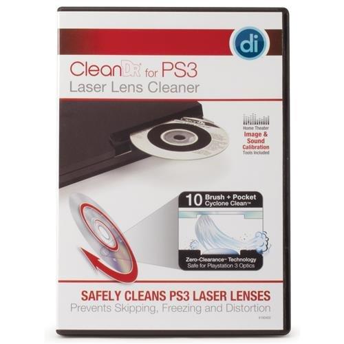 Digital Innovations 4190400 Clean Dr. Laser Lens Cleaner for PS3 (3 Brush Laser Lens)