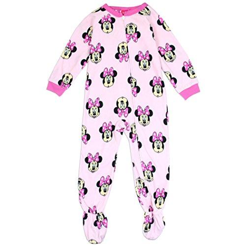 Minnie Mouse Girls Toddler Blanket Sleeper (Fancy Sleeper)