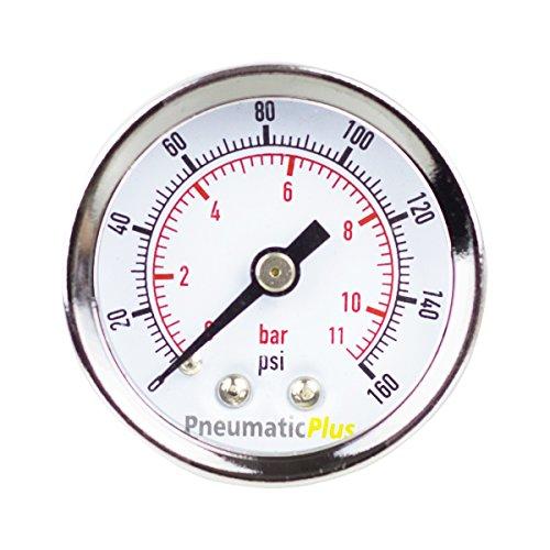 PneumaticPlus PSB15 160CP Pressure Compressor Chrome