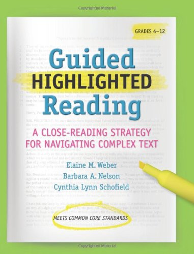Amazon.com: Guided Highlighted Reading: A Close-Reading Strategy ...