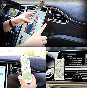 XS 6 360/° Rotation Car Mount ✮ Fits All iPhone Xs Max Note 9 Pelotek: Cell Phone Holder for Car X 8 Galaxy S9 8 S9 Plus Car Phone Mount for Air Vents 7 and More XR Gold 6//7//8 Plus