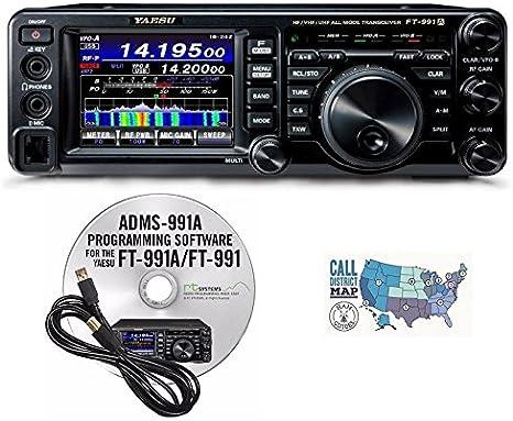 Yaesu FT-991A HF//VHF//UHF All Mode Transceiver Accessory Bundle!!